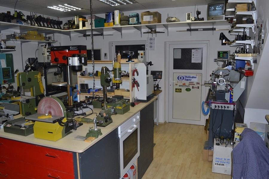 Modellbau Kirchengast Werkstatt